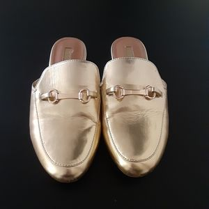 🆑️CLEARANCE Forever 21 Gold Mules